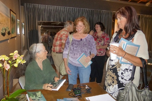 Book signing at The Ojai Art Center Reading