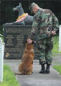 War Dog that gave their lives