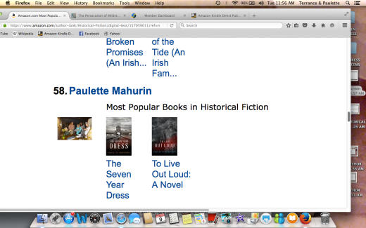 #58 AUTHOR and most popular book Hist fiction Screen Shot 2016-08-09 at 11.56.13 AM