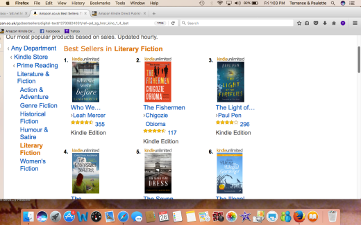AMAZON UK #5 LITERARY FICTIONScreen Shot 2017-05-26 at 1.03.47 PM