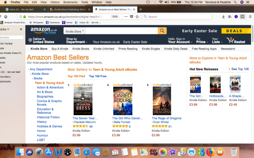 AMAZON U.K. #1 TEEN AND YOUNG ADULT Screen Shot 2018-03-22 at 12.34.07 PM copy