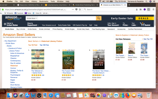 AMAZON U.K. HISTORICAL LITERARY FICTION # 3 Screen Shot 2018-03-22 at 10.19.07 AM copy