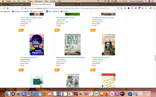 #86 AMAZON BEST SELLER CLOCK #86 BEST SELLER Screen Shot 2019-12-20 at 7.59.16 AM copy 2